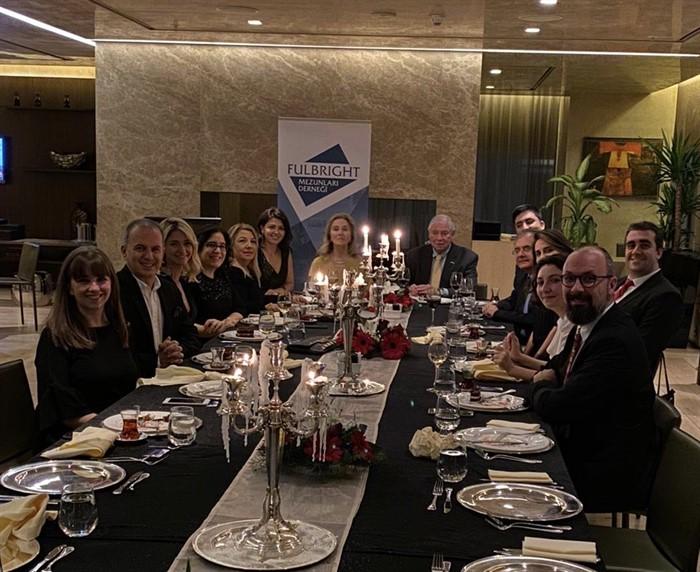 Fulbright Mezunları Derneği Danışma Kurulu Yeni Yıl Yemeği