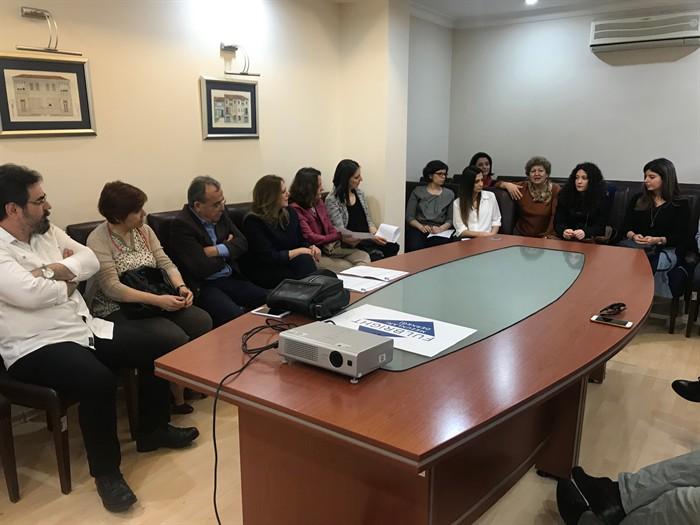 Toplantıya katılan Fulbright mezunlarımız İzmir