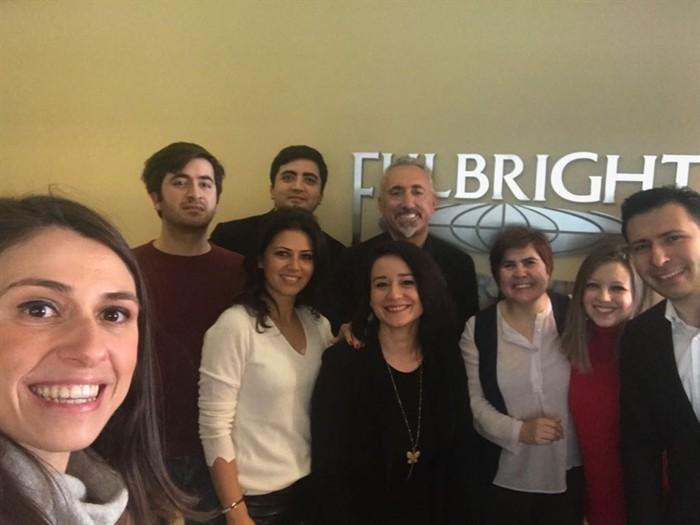 Fulbright Mezunları Derneği Yönetimi Türkiye Fulbright Eğitim Komisyonu'nu Ankara'da ziyaret etti