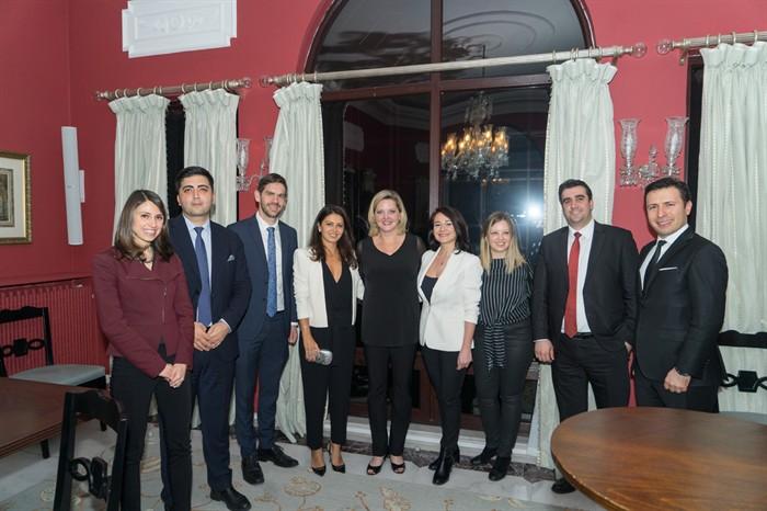 Fulbright Mezunları Derneği, ABD İstanbul Başkonsolosu rezidansındaki Resepsiyona Katıldı