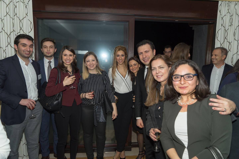 Fulbright Mezunları Derneği, ABD İstanbul Başkonsolosu rezidansındaki resepsiyonda Fulbright mezunları ile bir araya geldi